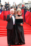 Bisset and Annaud at Moscow Film Festival Royalty Free Stock Photography