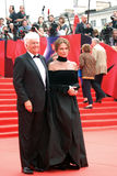 Bisset and Annaud at Moscow Film Festival Stock Photography