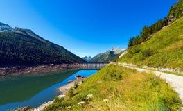 Bissina See mit Verdammung - Adamello Trento Italien Stockfoto