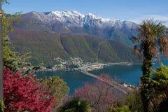 bissone Switzerland fotografia stock