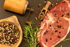 Bistecca Fotografia Stock Libera da Diritti