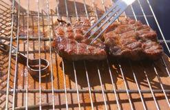 Bistecca appetitosa Fotografia Stock Libera da Diritti