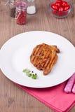Bistecca arrostita Immagini Stock Libere da Diritti