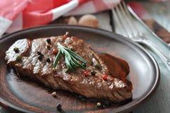 Bistecca arrostita Fotografia Stock