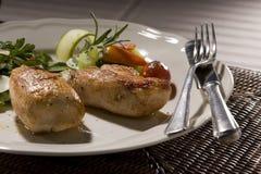 Bistecca arrostita della carne Immagine Stock