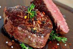 Bistecca cotta Immagine Stock Libera da Diritti