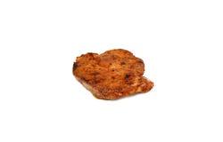 Bistecca cotta del porco Immagini Stock Libere da Diritti