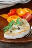 Bistecca cotta del tacchino Fotografie Stock Libere da Diritti
