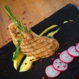 Bistecca cotta del tacchino Fotografia Stock