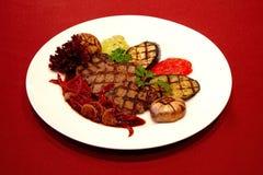 Bistecca cotta Gourmet fotografia stock