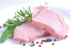 Bistecca cruda Immagini Stock Libere da Diritti