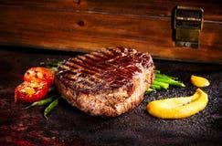 Bistecca del barbecue Fotografia Stock Libera da Diritti