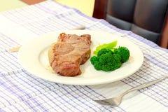 Bistecca del BBQ fotografia stock libera da diritti