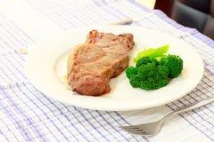 Bistecca del BBQ fotografia stock
