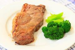 Bistecca del BBQ immagini stock libere da diritti