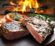 Bistecca del BBQ immagini stock