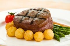 Bistecca del filetto fotografie stock libere da diritti