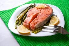 Bistecca del salmone Immagine Stock Libera da Diritti