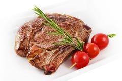 Bistecca dell'Costola-occhio immagini stock libere da diritti