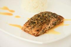 Bistecca di color salmone Immagini Stock Libere da Diritti