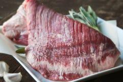 Bistecca di fianco Fotografie Stock