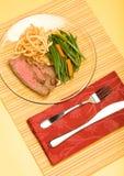 Bistecca di fianco Fotografia Stock