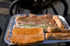Bistecca di Grillted Immagini Stock Libere da Diritti