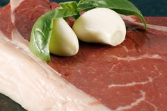 Bistecca di groppa Fotografia Stock