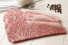 Bistecca di lombata Fotografie Stock