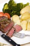 Bistecca di lombata superiore Fotografie Stock