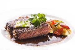 Bistecca di manzo Immagine Stock