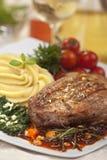 Bistecca di manzo Immagini Stock Libere da Diritti