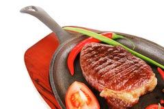 Bistecca di manzo arrostita immagine stock libera da diritti