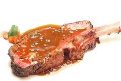 Bistecca di manzo di Wagyu Fotografia Stock