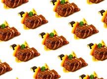 Bistecca di manzo succosa rara media Fotografie Stock