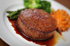 Bistecca di manzo sugosa Immagini Stock