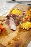 Bistecca di pepe Fotografie Stock Libere da Diritti