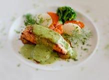 Bistecca di pesci Immagine Stock
