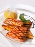 Bistecca di pesci rossa Fotografie Stock