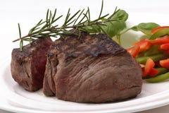 Bistecca di raccordo del manzo Fotografie Stock Libere da Diritti