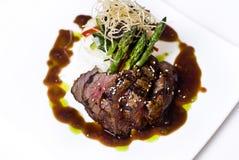 Bistecca gastronomica del mignon di raccordo immagini stock