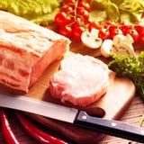 Bistecca grezza fresca immagini stock
