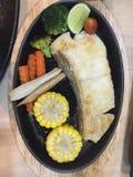Bistecca nello stile giapponese Immagini Stock Libere da Diritti