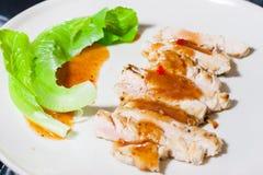Bistecca piccante asiatica fotografia stock