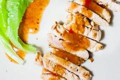 Bistecca piccante asiatica Fotografia Stock Libera da Diritti