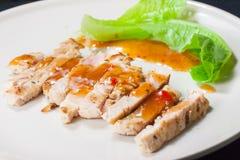 Bistecca piccante asiatica fotografie stock libere da diritti