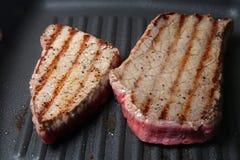 Bistecche cotte Fotografia Stock Libera da Diritti