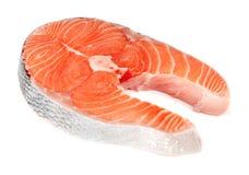Bistecche dei pesci rossi Fotografia Stock Libera da Diritti