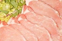 Bistecche fresche del lombo Immagini Stock Libere da Diritti