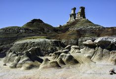 Bisti-Ödländer, De-Na-zin Wildnisgebiet, New Mexiko, USA stockfotos